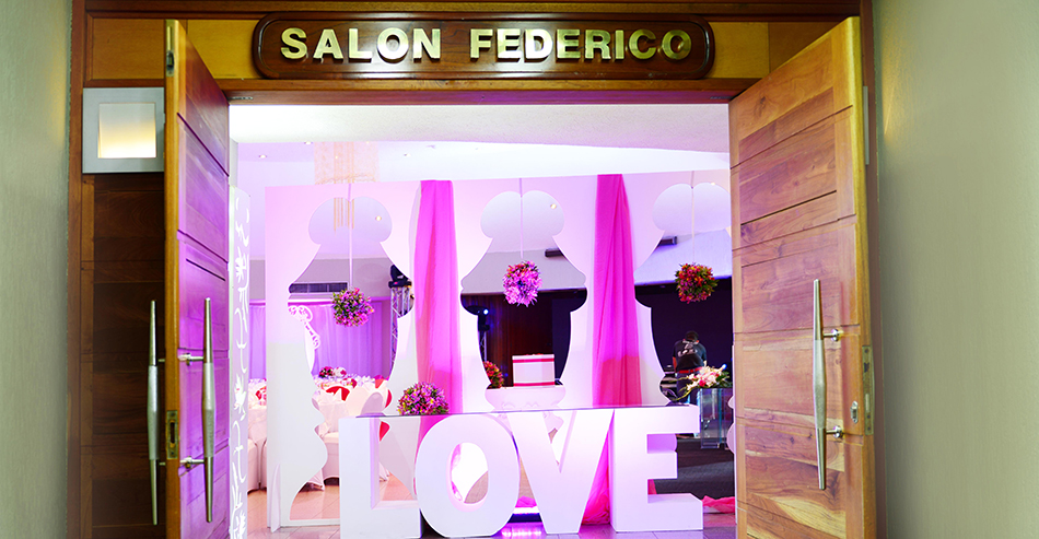 Salon Federico Entrada - Hotel Pipo